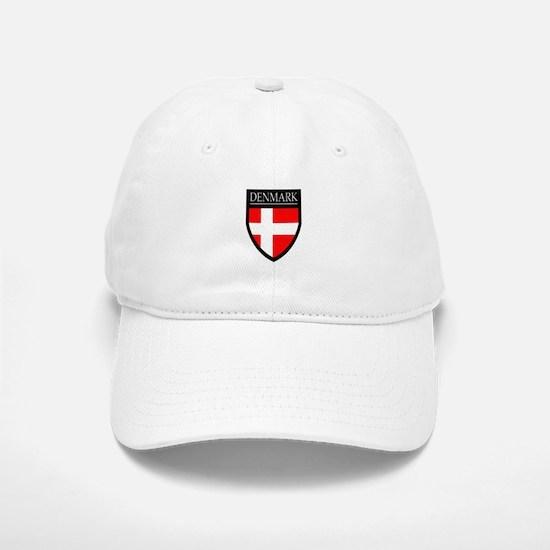 Denmark Flag Patch Baseball Baseball Cap