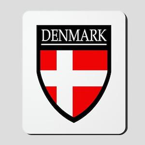 Denmark Flag Patch Mousepad