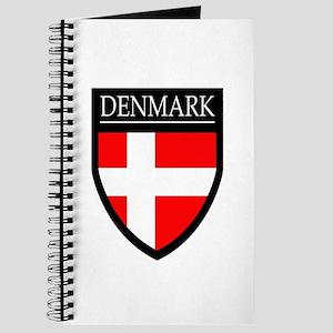 Denmark Flag Patch Journal