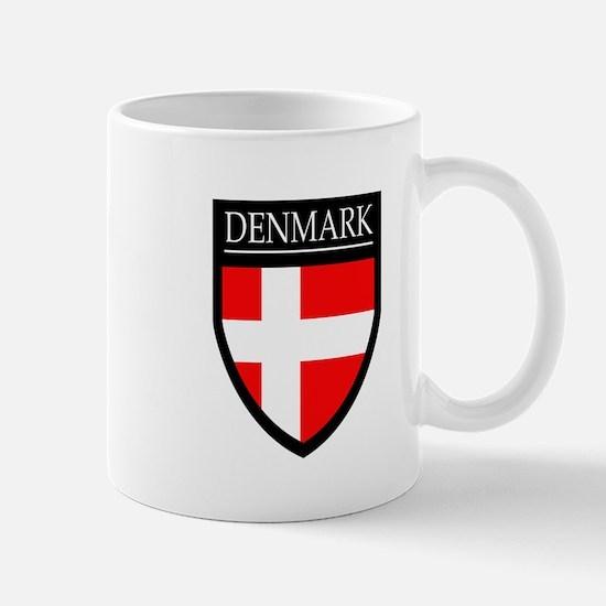 Denmark Flag Patch Mug