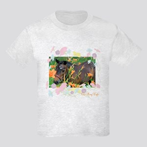 The Pony Cafe's Mini Horse Kids Light T-Shirt