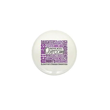 Family Square Alzheimer's Mini Button (100 pack)