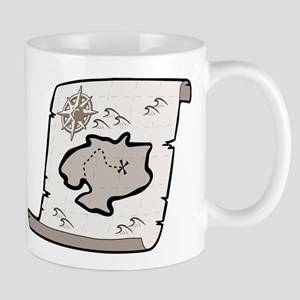 Pirate Treasure Map Mug