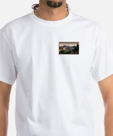 Colosseum from Forum White T-Shirt