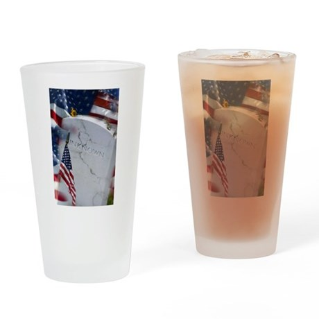 The Unkown Soldier Pint Glass