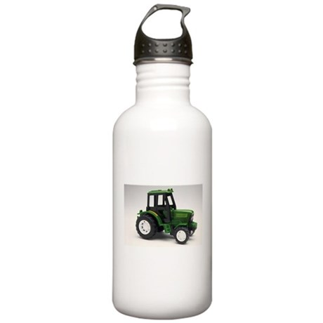 Green Toy Tractor Stainless Water Bottle 1.0L