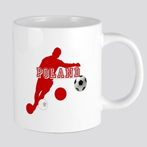 Polish Soccer Player 20 oz Ceramic Mega Mug