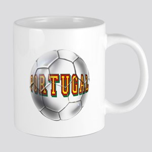 Portugal Football 20 oz Ceramic Mega Mug