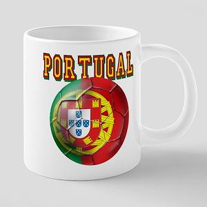 Portugal Soccer Futebol 20 oz Ceramic Mega Mug