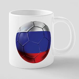 Russian Soccer Ball 20 oz Ceramic Mega Mug