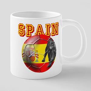 Spanish Football 20 oz Ceramic Mega Mug
