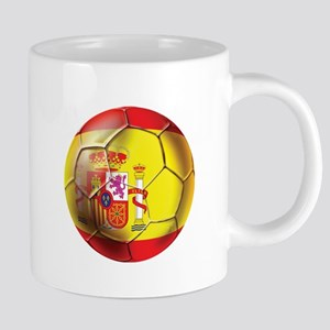 Spanish Futbol 20 oz Ceramic Mega Mug