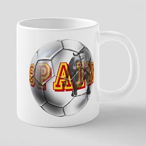 Spanish Soccer Ball 20 oz Ceramic Mega Mug