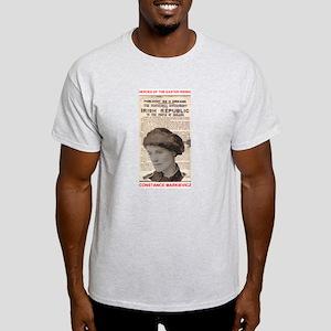 Constance Markiewicz - Ash Grey T-Shirt