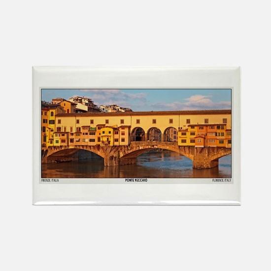 Ponte Vecchio Rectangle Magnet