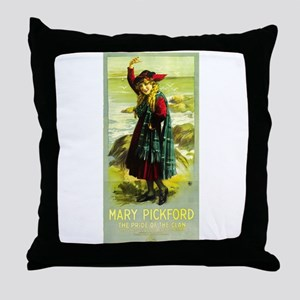 Pride Of The Clan Throw Pillow