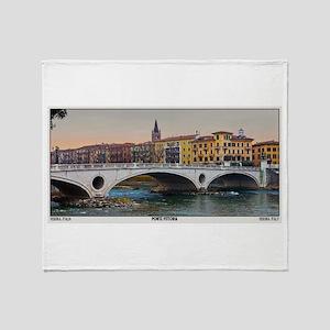 Ponte Vittoria Throw Blanket