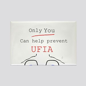 Only you can stop UFIA Rectangle Magnet