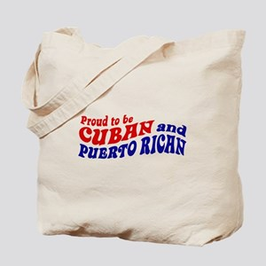 Cuban and Puerto Rican Tote Bag