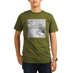 Why Do We Have a Moat (no text) Organic Men's T-Sh