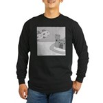 Why Do We Have a Moat (no text) Long Sleeve Dark T