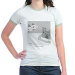 Why Do We Have a Moat Jr. Ringer T-Shirt