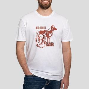 K9UNIT Belgian Malinois Fitted T-Shirt