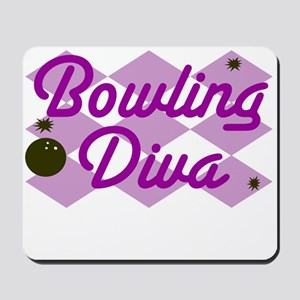 Bowling Diva Mousepad