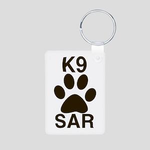 K9 SAR Aluminum Photo Keychain