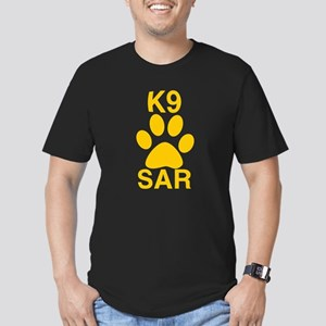 K9 SAR Men's Fitted T-Shirt (dark)