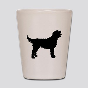 Labradoodle Shot Glass