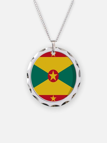 Cool Grenadian flag designs Necklace