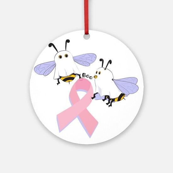 The Boobees Celebrate Breast Ornament (Round)