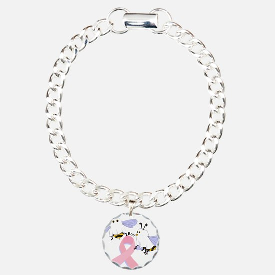 The Boobees Celebrate Breast Charm Bracelet, One C