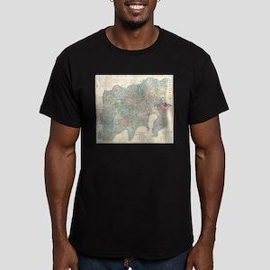 Vintage Map of Tokyo and Mt. Fuji Japan (1 T-Shirt