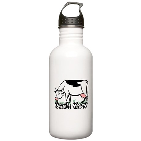 Cash Cow Stainless Water Bottle 1.0L