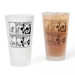 CHEESE: justice VS order Pint Glass