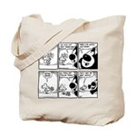 CHEESE: justice VS order Tote Bag