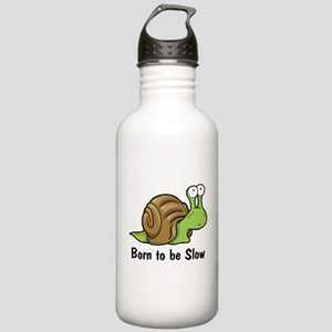 Born to Be Slow Stainless Water Bottle 1.0L