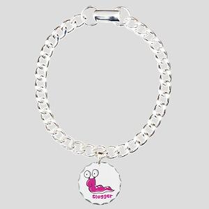 Slugger Slug Charm Bracelet, One Charm