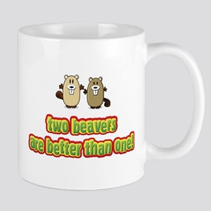 Two beavers are better than o Mug