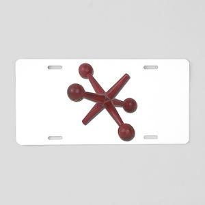 Jacks Aluminum License Plate