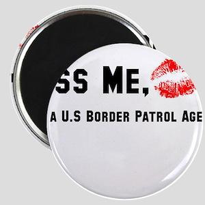 Kiss U.S Border Patrol Magnet