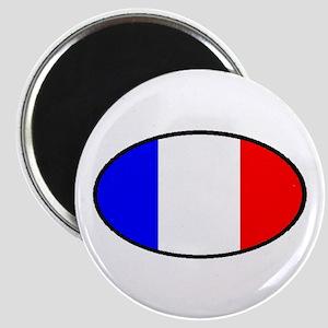 FRANCE OVAL Magnet