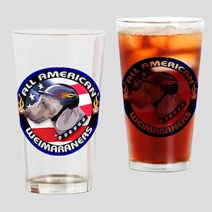 All American Weimaraners Pint Glass
