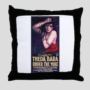 Under The Yoke Throw Pillow