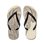 Chesapeake Bay Retriever Flip Flops