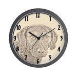 Chesapeake Bay Retriever Wall Clock