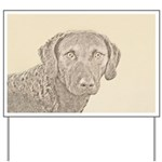 Chesapeake Bay Retriever Yard Sign