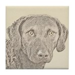 Chesapeake Bay Retriever Tile Coaster